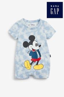 Gap Baby Mickey Mouse™ Tie Dye Romper