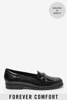 Black Hardware Loafers