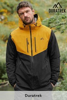 Yellow/Navy Colourblock Waterproof Fleece Lined Anorak