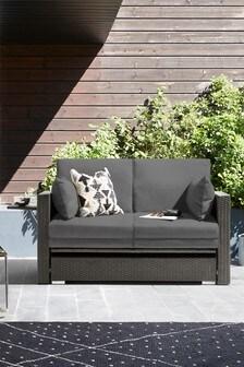 Dark Grey Monaco Modular Sofa Lounger