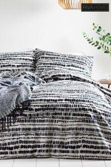 Brushstroke Duvet Cover And Pillowcase Set by Riva Home