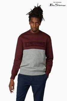 Ben Sherman Port Sports Logo Sweater