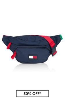 حقيبة أزرق داكن للأطفال منTommy Hilfiger