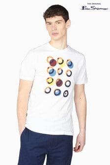 Ben Sherman White Target Construction T-Shirt