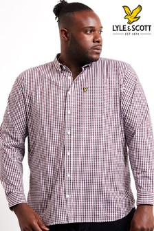 Lyle & Scott Plus Slim Fit Gingham Shirt
