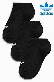 adidas Originals Kids Trefoil Trainer Socks 3 Pack