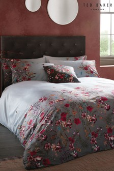 Ted Baker Fern Forest Cotton Floral Duvet Cover