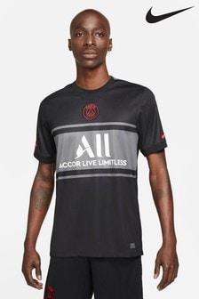 Nike Black PSG 21/22 Third Football Shirt