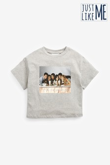 Light Grey Marl Friends License T-Shirt (3-16yrs)