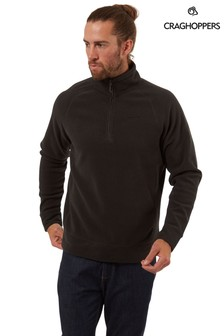 Craghoppers Black Turo Fleece