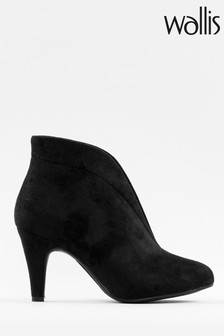 Wallis Amuse Black Elastic Gusset Shoeboots