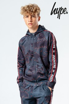 Hype. Kids Multi Digital Redline Zip Hoody