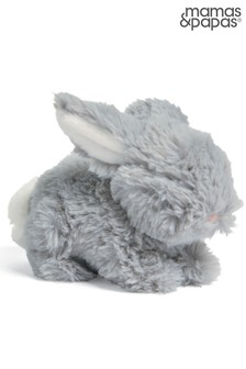 Grey Mamas & Papas Forever Treasured Bunny Soft Toy