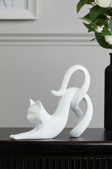 Contemporary Cat Ornament