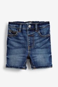 Mid Blue Denim Shorts (3mths-7yrs)