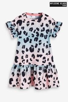 Myleene Klass Kids Printed Tiered Dress