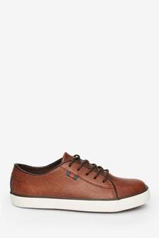 Tan Lace-Up Shoes (Older)