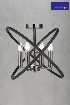 Eternity 4 Light Semi Flush Light Fitting by Searchlight