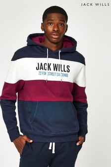 Jack Wills Navy Hatherley Hoody