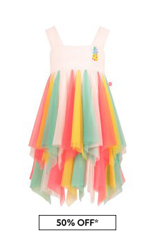 فستان ألوان متعددةبناتي