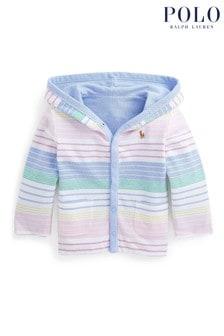 Ralph Lauren Multicoloured Stripe Reversible Baby Jacket