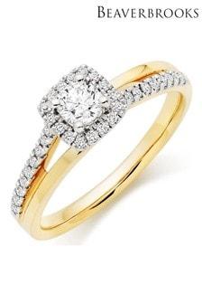 Beaverbrooks 18ct Diamond Ring