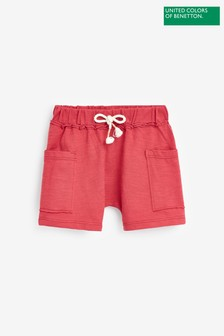 Benetton Pocket Detail Jersey Shorts