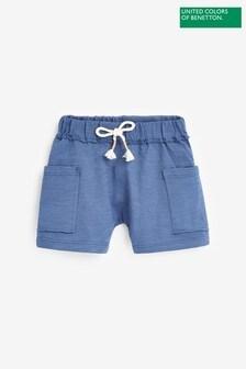 Benetton Pocket Detail Jersey Shorts