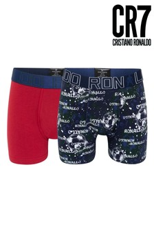 CR7 Boys Fashion Trunks Two Pack