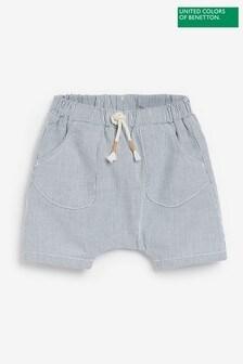Benetton Striped Shorts
