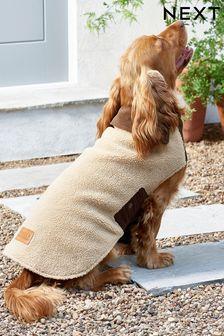 Borg Teddy Dog Coat