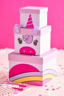 Unicorn Stacking Gift Boxes