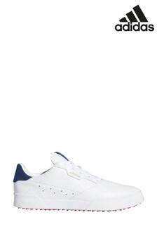 adidas Golf White Adicross Retro Trainers