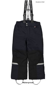 Polarn O. Pyret Blue Padded Waterproof Trousers