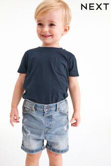 Navy T-Shirt (3mths-7yrs)