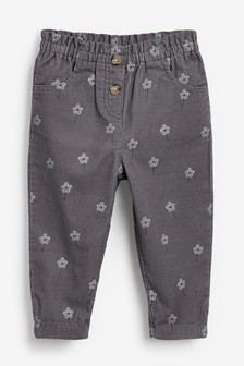 Grey Cord Trousers (3mths-7yrs)