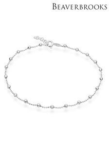 Beaverbrooks Sterling Silver Ball Bracelet
