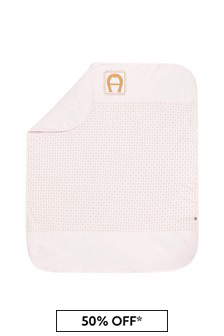 Baby Girls Pink Cotton Blanket