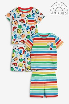 Little Bird Unisex Top And Shorts Sets 2 Pack