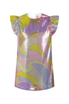 Emilio Pucci Girls Purple Dress
