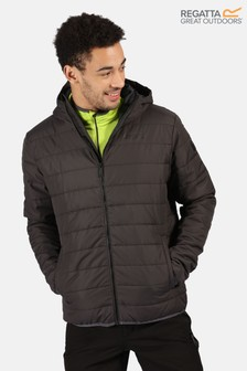 Regatta Grey Helfa Insulated Baffle Jacket