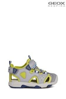 Geox Baby Boy's Multi Grey Sandals