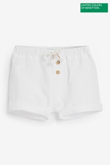 Benetton Linen Blend Shorts