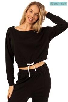 DORINA Black Pyjama Top