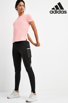 adidas Black Alphaskin Leggings