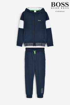 BOSS Navy Tracksuit