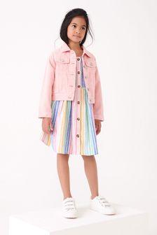 Pink Denim Jacket (3-16yrs)