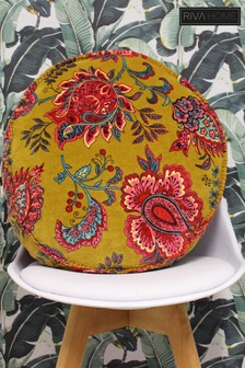 Malisa Round Velvet Cushion by Riva Home