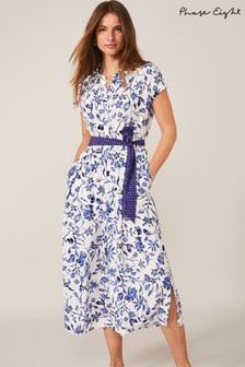 Phase Eight Blue Cosette Floral Jumpsuit