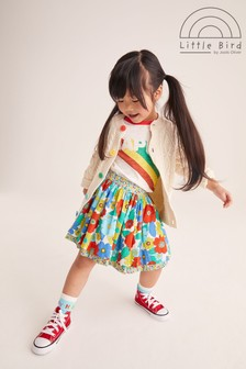 Little Bird Floral Reversible Skirt